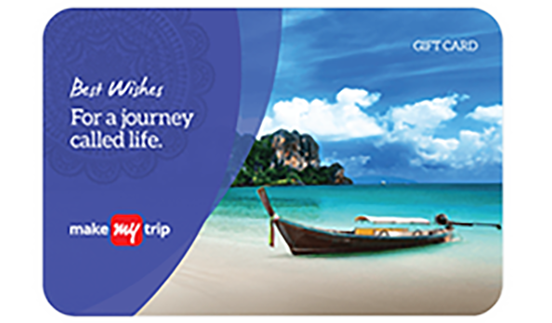 MakeMyTrip E-Gift Card
