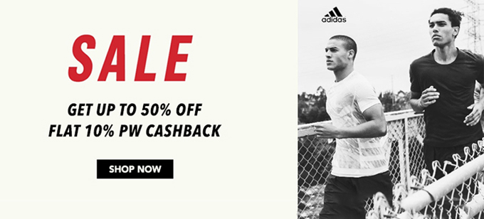 Adidas India Offer