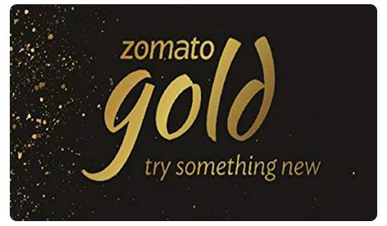 Zomato Gold E-Gift Voucher - Rs 800 for 3 months membership
