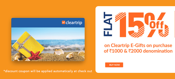 CLear Trip Gift Card Offer