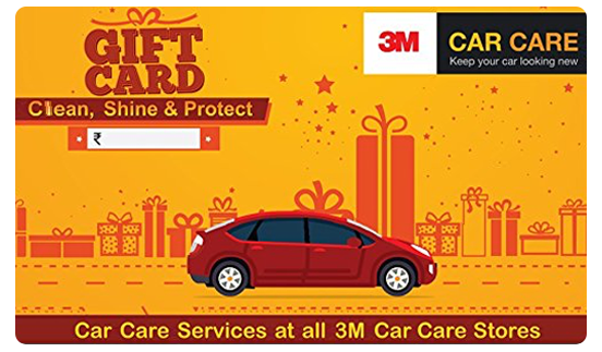3M Car Care E-Gift Card