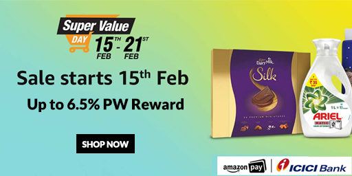 Super Value Days | Upto 40% Off On Grocery & More + Extra Rs.600 Cash Back Offer