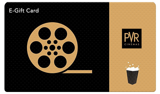 PVR Cinemas E-Gift Card