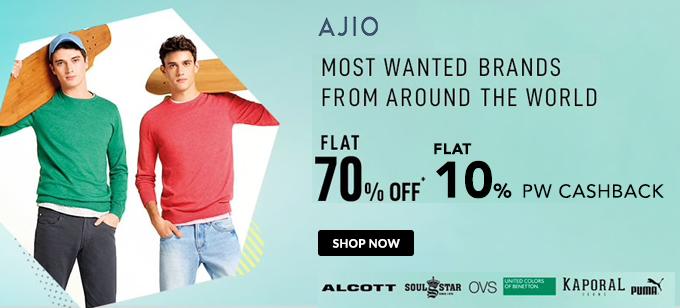 Ajio.com Offer