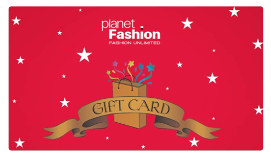 Planet Fashion E-Gift Card