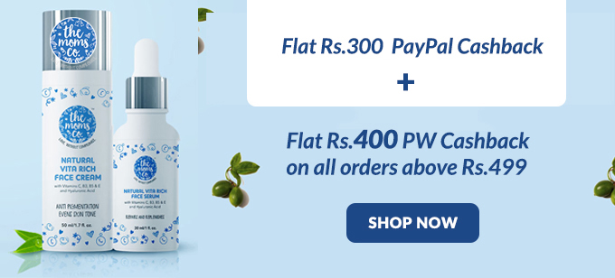 Flat Rs.300 Paypal + Rs.400 PW Cashback on Order Above Rs.499