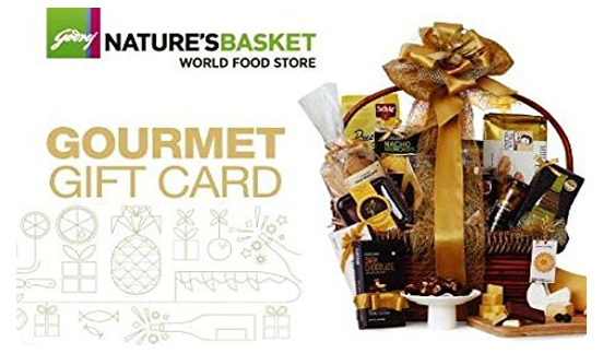 Godrej Nature's Basket E-Gift Card