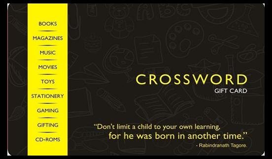 Crossword E-Gift Card