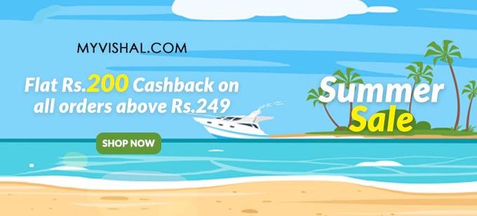 My Vishal Rs.249 Store is Live, Shop & Get Flat Rs.200 Cashback