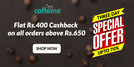 Upto 40% Off + Flat Rs.400 Cashback on Orders over Rs.650