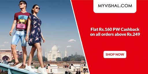 MV LOOT| Flat 50-70% Off on Men's Fashion + Rs.160 PW Cashback on orders Over Rs.249