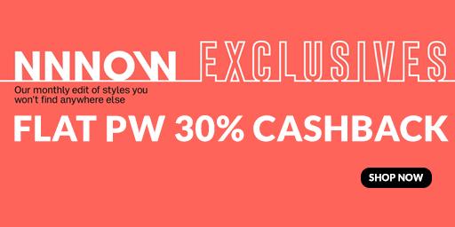 Upto 40-60% Off On All Fashion + Extra 30% PW Cashback