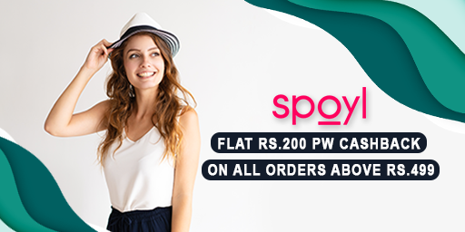 EOSS | Flat Rs.200 PW Cashback on Order Rs.499 Above + Extra 20% Discount on 1st Order