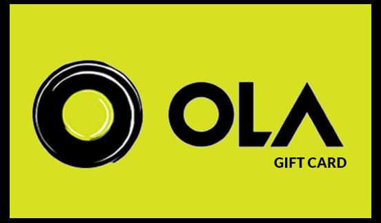 Ola Cabs E Gift Card