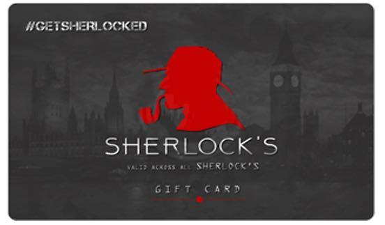 Sherlock Pub E-Gift Card