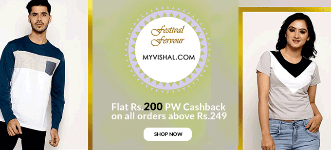 Upto 70% Off on Men's & Women's Fashion + Rs.200 PW Cashback on orders Over Rs.249