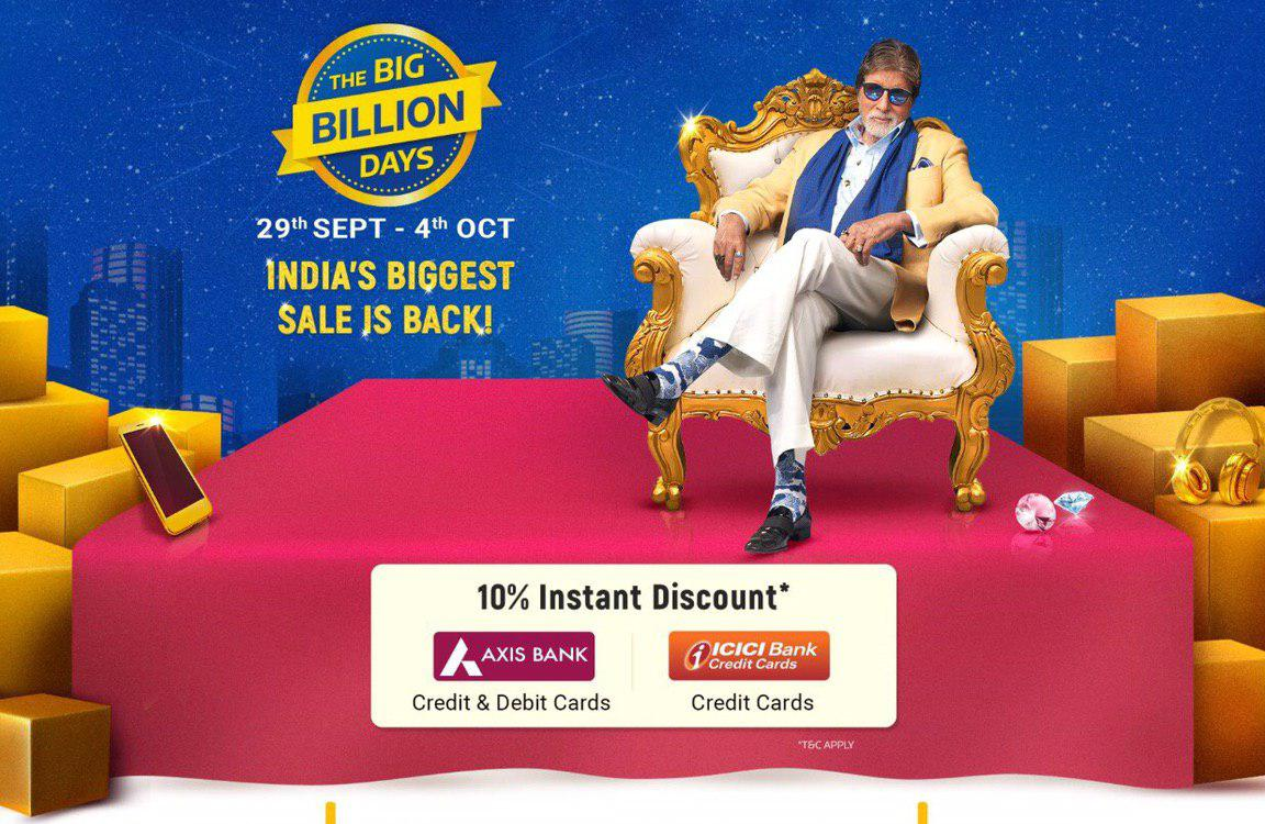 Get Early Access to The Big Billion Days with Flipkart Plus Membership (28th Sept, 8 pm)