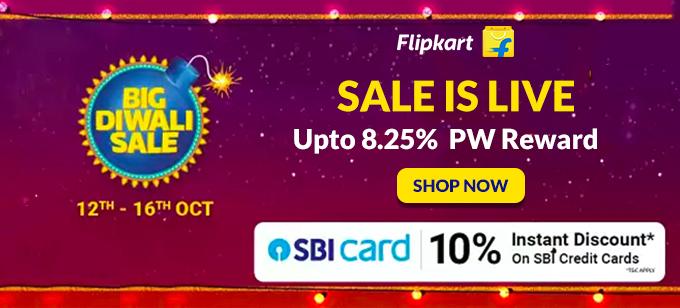 Flipkart Big Diwali Sale Offers October 12th - October 16th,2019