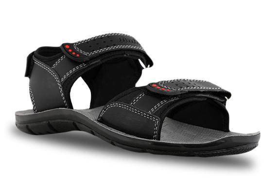 Bata Black Sandals For Men at Rs.299