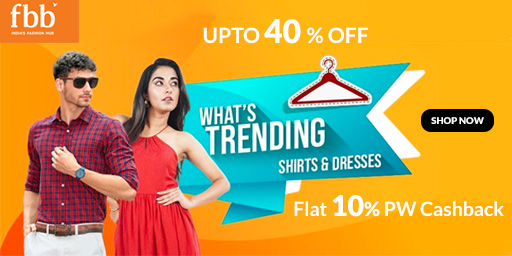 FBB HAS IT ALL   Wide Range Of Clothing, Starting Rs.299