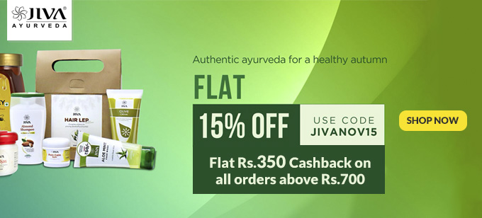 Jiva Ayurveda Offers