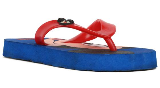 Bata Blue Chappals For Girls