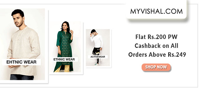 THREE DAYS MAHALOOT | Upto 70% Off on All Fashions+ Rs.200 PW Cashback on orders Over Rs.249