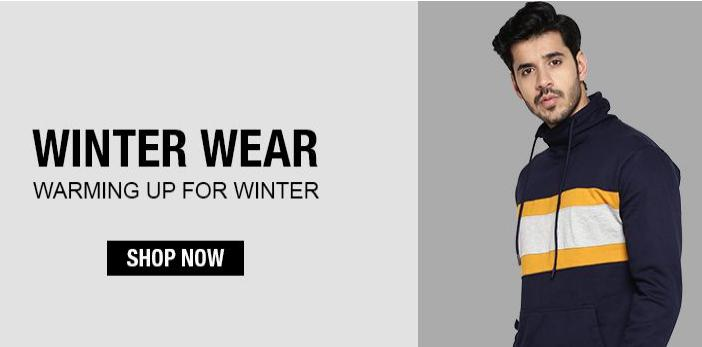 WINTER WEAR LOOT | Buy Men's Fresh Winter Wear Collection, Starting at Rs.139