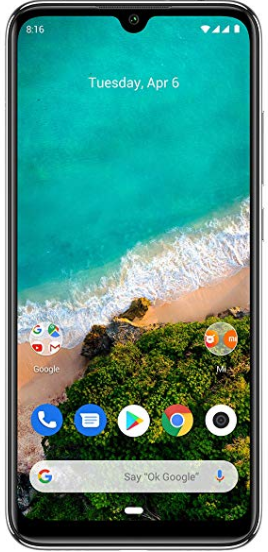 Xiaomi Mi A3 (Kind of Grey, 4GB RAM + 64GB Storage + 4030mAH Battery)