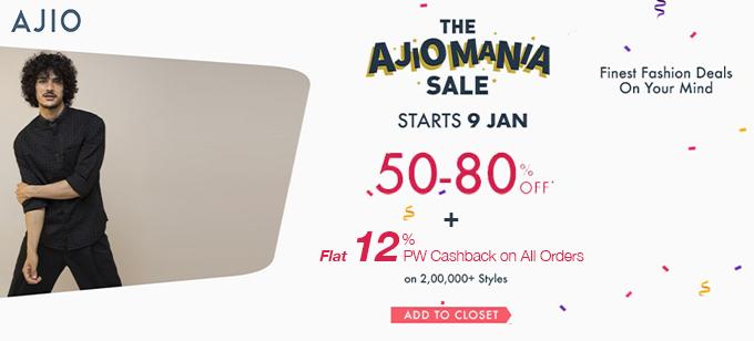Ajio.com Offers