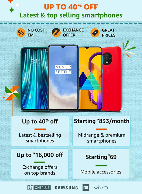 Amazon-Great-Indian-Festival-Sale-Offers-on-Mobiles-and-accessories