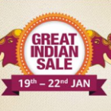 Amazon Great Indian Sale January 18th-22nd
