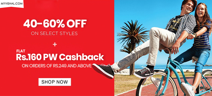 NEW YEARA LOOT| Flat 50-70% Off on Men's Fashion + Rs.160 PW Cashback on orders Over Rs.249