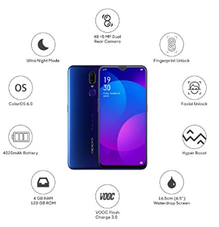 OPPO-F11-@Rs.13,990-worth-Rs.23,990-exchange-offers-no-cost-EMI-@659-Amazon