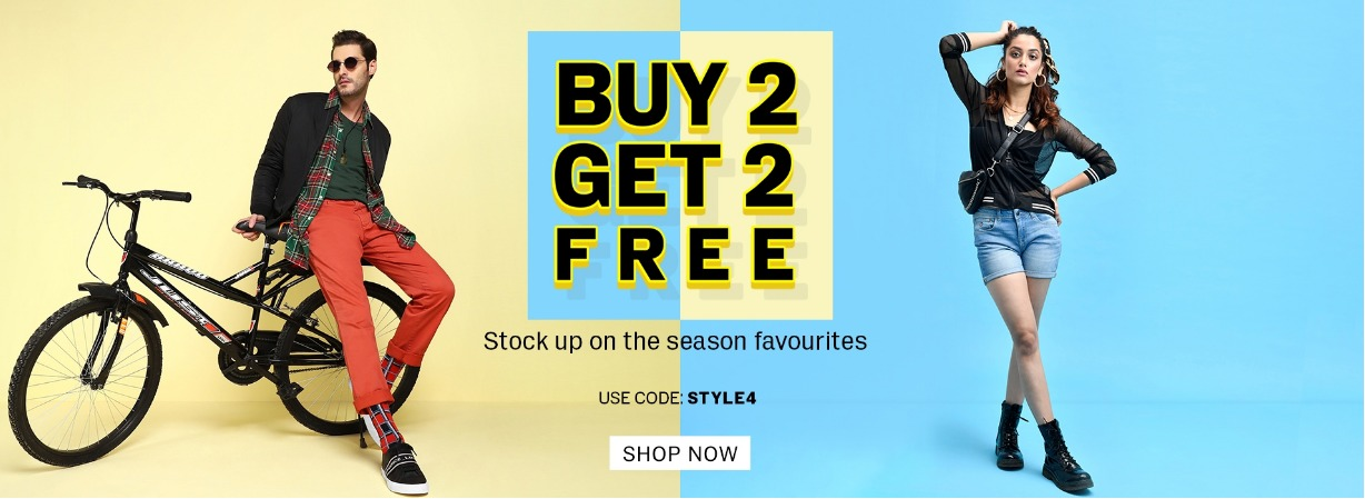 WOW LOOT | Buy 2 Get 2 On U.S.Polo Assn, Flying Machine, Aeropostale, True Blue & More Brands