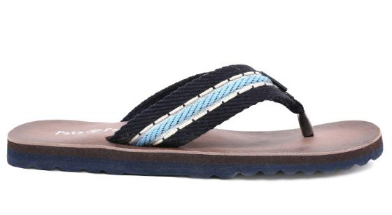 BATA SUNSHINE Blue Chappals For Men at Rs.149