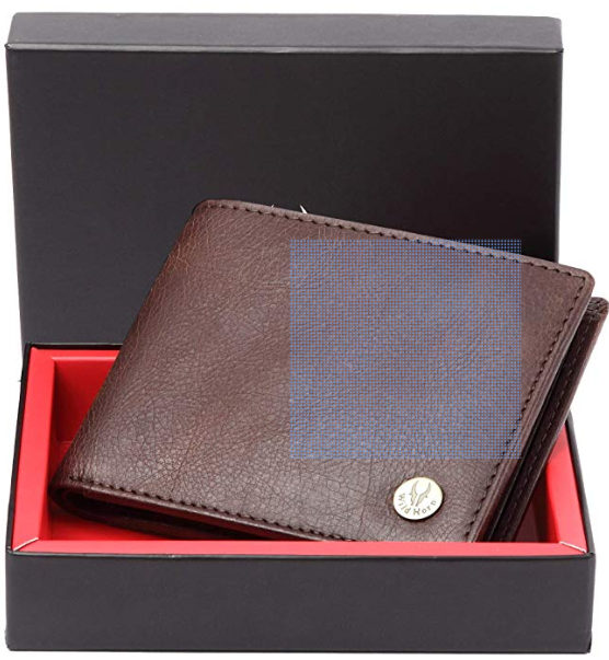 WildHorn-Leather-Wallet-starting-at-Rs.299-80%-worth-Rs.3,000-Amazon