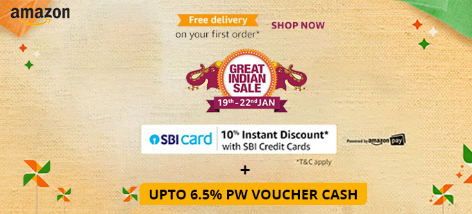 Amazon Great Indian Sale Offers January 19th - January 22nd,2020