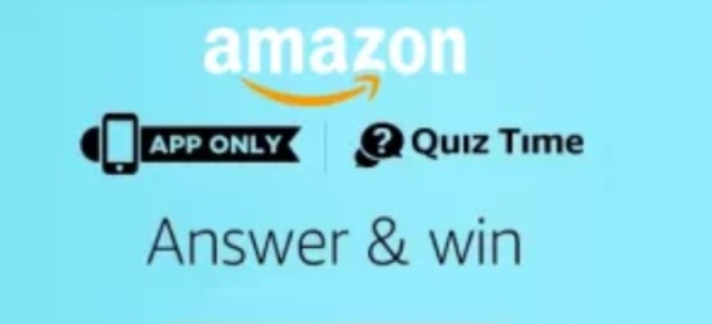 Amazon-Quiz-Time-Today-Answers- 8-12