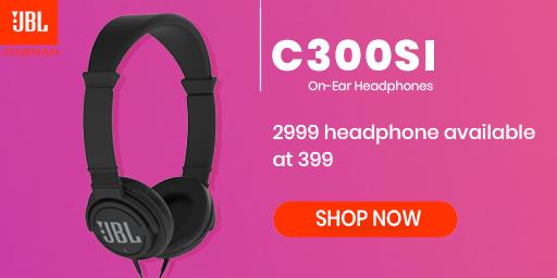 JBL REPUBLIC DAY LOOT| JBL C300SI Headphones at Rs.399