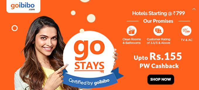 Goibibo Hotels Offers