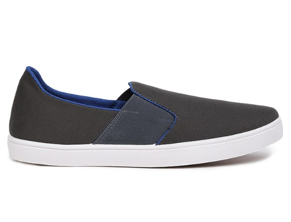 BATA GREY Shoes for Men at Rs.499