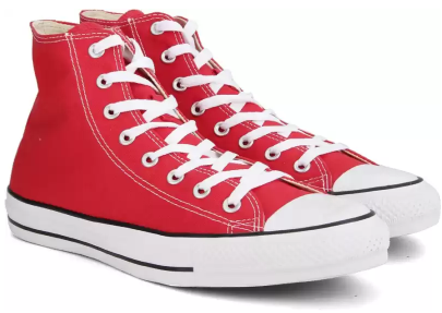 Converse-Chuck-Taylor-Light -Weight-High-Ankle-Sneakers-For-Men-Red-60%-OFF-On-Shoes-Flipkart