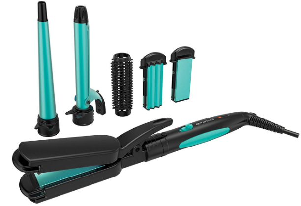 Havells-HC4045-5-in-1-Multi-Styling-Kit-Best-Hair-Styling-Tools-50%-OFF-Amazon