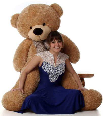CLICK4DEAL-Soft-5-Feet-Brown-Teddy-Valentines-Day-Decor-At-Rs.159-Amazon