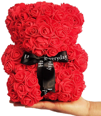 Webby-Red-Rose-Teddy-Bear-Valentines-Day-Decor-At-Rs.159-Amazon