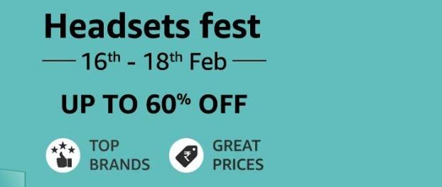HEADSETS FEST| Upto 60% Off On Boat, JBL, Mivi, Sennheiser, Sony & More