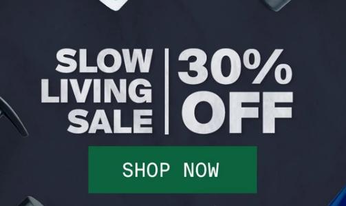 SLOW LIVING SALE | Flat 30% Off on Hair Care Range