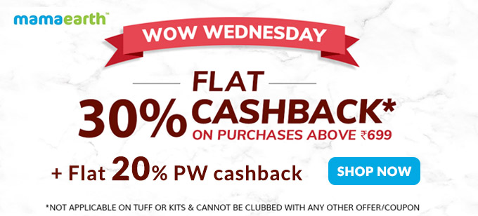 WOW WEDNESDAY SALE| Flat 30% + 20% Cashback on Orders of Rs.699