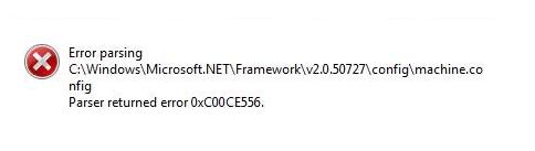 "Fix Net ""Error parsing parser returned error 0xc00ce556"" in Windows 10 -  Windows Bulletin Tutorials"